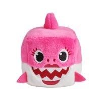 BS1002 Roz Jucarie interactiva cu sunete Baby Shark, Rechin, Roz
