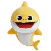 BS1003_001w Jucarie de plus Baby Shark - Rechin, Galben, 16 cm