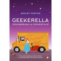 C12+FA63_001w Carte Editura Litera, Geekerella. Cenusareasa la conventia Sf. Ashley Poston