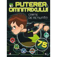 CADDIV102_001w Carte de activitati cu autocolante Ben Ten - Puterea Omnitrixului