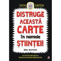 CADDIV105_001w Carte Editura Litera, Distruge aceasta carte in numele stiintei! Mike Barfield