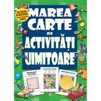 CADDIV116_001w Carte Editura Litera, Marea carte de activitati uimitoare