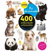 CADDIV122_001w Autocolante refolosibile, pui de animale - Editura Litera