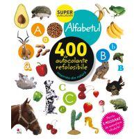 CADDIV123_001w  Autocolante refolosibile, alfabetul - Editura Litera