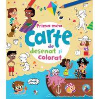 CADDIV130_001w Carte Editura Litera, Prima mea carte de desenat si colorat