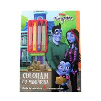 CADDIV147_001w Carte de desenat, Coloram cu Vampirina