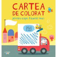CADDIV197_001w Carte Editura Litera, Cartea de colorat pentru copii foarte mici