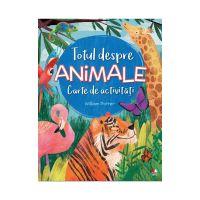 CADDIV93_001w Carte de activitati Editura Litera, Totul despre animale