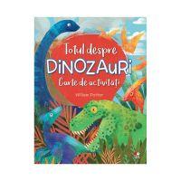 CADDIV98_001w Carte de activitati Editura Litera, Totul despre dinozauri