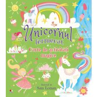 CADDIV99_001w Cartea Unicornul Fermecat - Editura Litera
