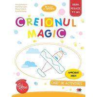 CAG2-01_001w Creionul magic. Caiet de activitati. Grupa mijlocie 4-5 ani