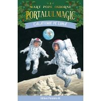 Calatorie pe Luna. Portalul magic nr. 8, Mary Pope Osborne