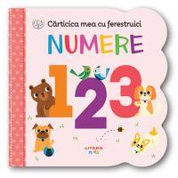CARTBI105_001w Carticica mea cu ferestruici, Numere 123, Bebe Invata