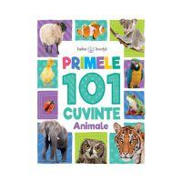 CARTBI27_001w Carte copii Editura Litera, Bebe invata, Primele 101 cuvinte, Animale
