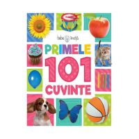 CARTBI29_001w Carte copii editura Litera, Bebe invata, Primele 101 cuvinte