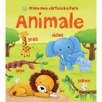 CARTBI47_001w Carte Editura Litera, Prima mea carticica litera. Animale