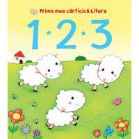 CARTBI49_001w Carte Editura Litera, Prima mea carticica litera. 1 2 3