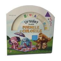 CARTBI63_001w Carte copii Editura Litera - Bebe invata, Ursulet invata formele si culorile