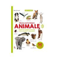 CARTBI70_001 Carte Editura Litera, Bebe Invata, Marea carte despre animale