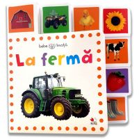 CARTBI77_001w Carte Editura Litera, La ferma. Bebe invata. Minitab