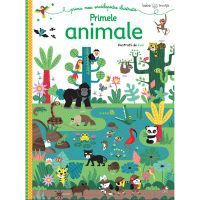 CARTBI94_001w Carte Editura Litera, Bebe invata. Prima mea enciclopedie ilustrata. Primele animale