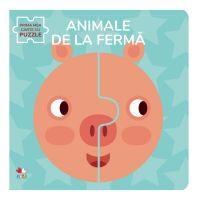 CARTDIV40_001w Carte Editura Litera, Animale de la ferma, Carte cu puzzle
