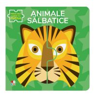 CARTDIV41_001w Carte Editura Litera, Animale salbatice, Carte cu puzzle