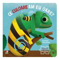 CARTDIV42_001w Carte Editura Litera, Ce culoare am eu oare? Prima mea carte cu puzzle