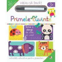 CARTDIV45_001w Carte Editura Litera, Vreau sa invat, Primele cuvinte