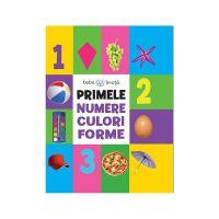 CC54_001 Carte Editura Litera, Bebe Invata, Primele numere, culori, forme