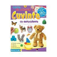 CCA188_001 Carte de activitati cu autocolante Editura Litera, Cuvinte