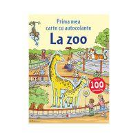 CCA291_001 Carte cu autocolante Editura Litera, La Zoo