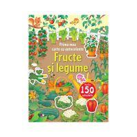 CCA292_001w Carte cu autocolante Editura Litera, Fructe si legume