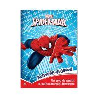 CCA297_001 Carte cu activitati si jocuri Spiderman, Marvel