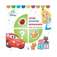CCA345_001 Carte cu activitati, Animale, culori, cuvinte opuse, Disney