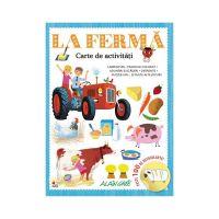 CCA366_001w Carte de activitati cu autocolante Editura Litera, La Ferma