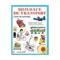 CCA372_001w Carte de activitati Editura Litera, Mijloace de transport