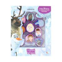 CCC16_001 Citeste si te joci Disney Frozen 2, 10 figurine