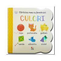 CCF10_001 Carticica mea cu ferestruici Editura Litera, Culori