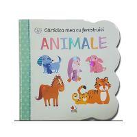 CCF11_001 Carticica mea cu ferestruici Editura Litera, Animale