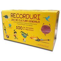 CCGDIV17_001w Carte Editura Litera, Recorduri. Joc de cultura generala. 100 de intrebari si raspunsuri