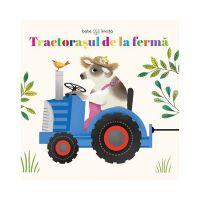 CCP5_001w Carte cu puzzle Editura Litera, Tractorasul de la ferma