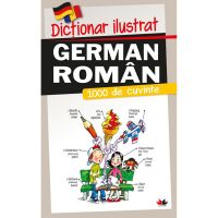 CD13_001w Carte Editura Litera, Dictionar ilustrat german-roman. 1000 de cuvinte