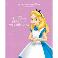 CDBI03_001w Carte Editura Litera, Disney. Alice in Tara Minunilor. Biblioteca ilustrata