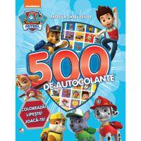CDCA68_001w Carte Editura Litera, Patrula catelusilor, 500 de autocolante