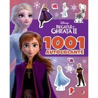 CDCA69_001w Carte Editura Litera, Disney. Regatul de gheata II. 1001 de autocolante