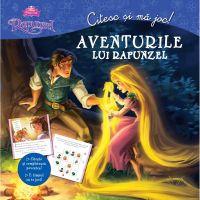 CDCJ01_001w Carte Editura Litera, Disney. Citesc si ma joc. Aventurile lui Rapunzel