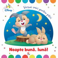 CDDB02_001w Carte Editura Litera, Noate buna, luna! Versuri mici pentru pitici
