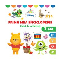 CDDB18_001w Carte Editura Litera, Prima mea enciclopedie, Caiet de activitati, 3 ani