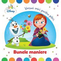 CDDB19_001w Carte Editura Litera, Disney Baby. Bunele maniere. Versuri mici pentru pitici